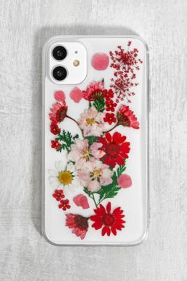 Recover - Coque pour iPhone 11/XR\u00a0fleurs séchées - Urban Outfitters - Modalova