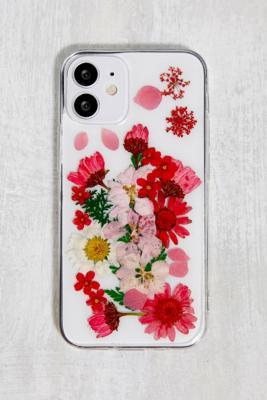 Coque pour iPhone\u00a012 Mini motif fleurs séchées - Urban Outfitters - Modalova