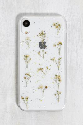 Recover - Coque pour iPhone\u00a011XR\u00a0à imprimé floral pailleté - Urban Outfitters - Modalova