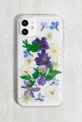 Coque pour iPhone 11 motif fleurs séchées - Urban Outfitters - Modalova