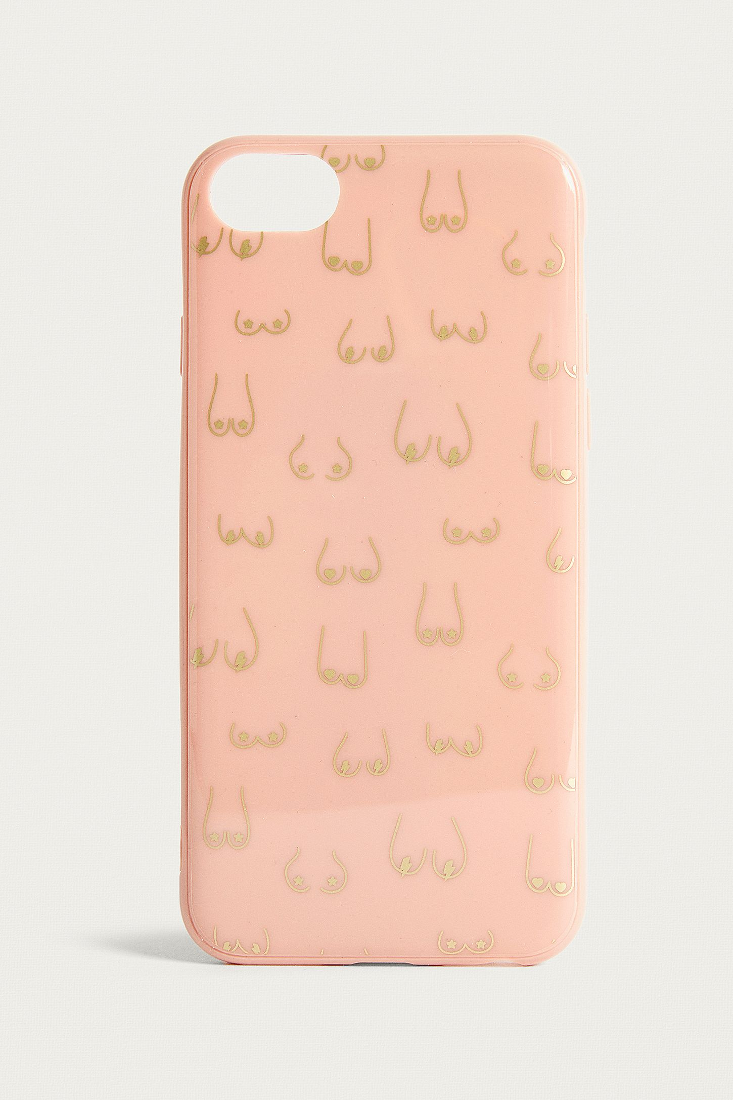 Multi Boob Iphone 678 Case Urban Outfitters Uk