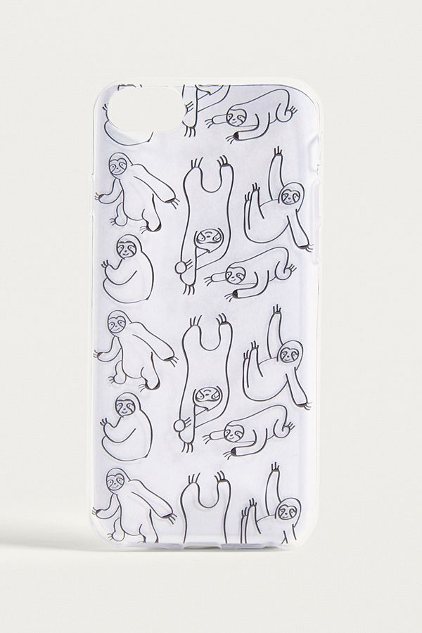 Sloth Print Iphone 66s78 Case Urban Outfitters De