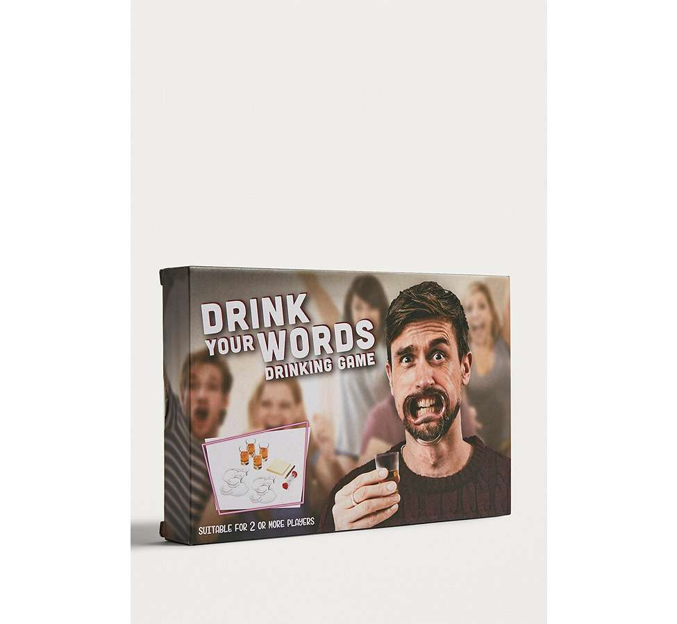 Slide View: 3: Jeu Drink Your Words