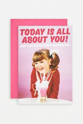 All About You Card - Assorted ALL at Urban Outfitters