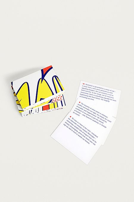 Greeting cards urban outfitters the school of life confidence prompt cards m4hsunfo