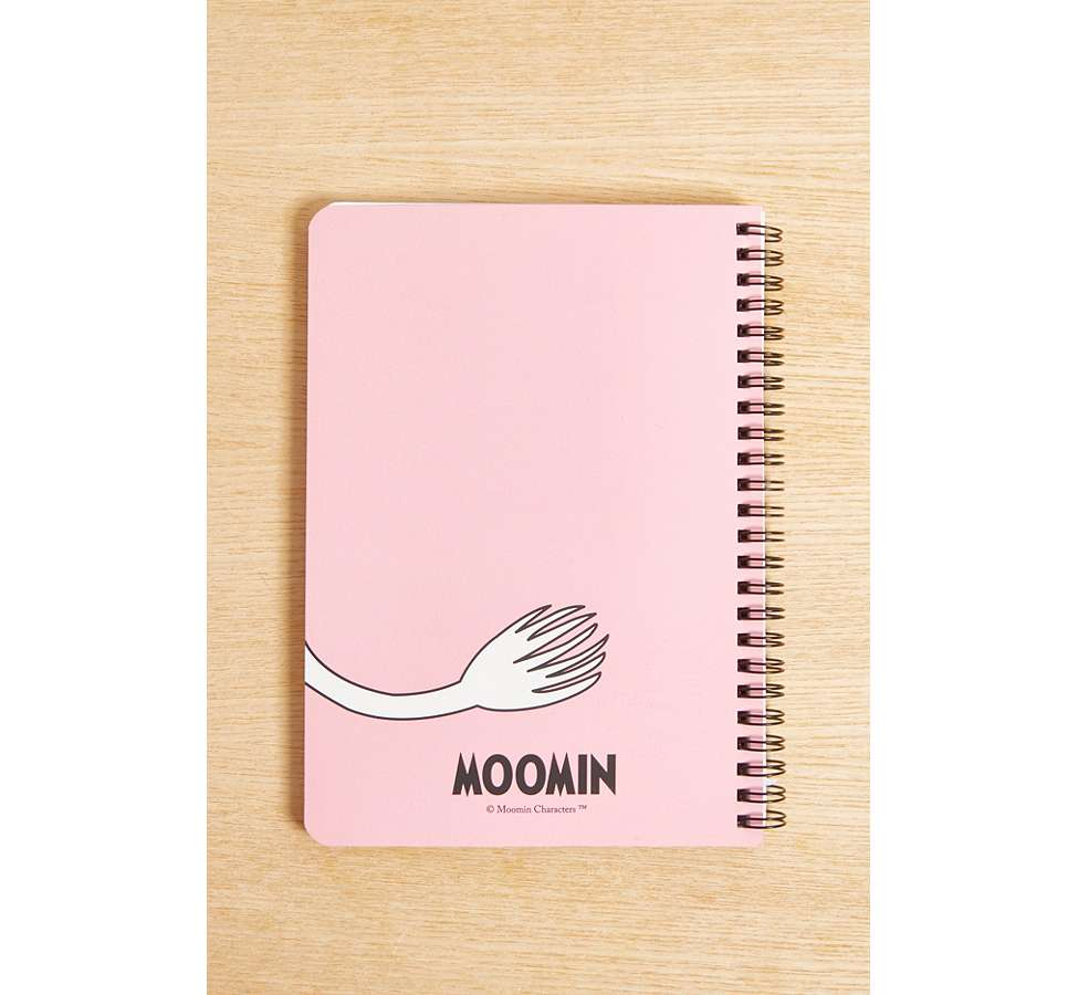 Slide View: 2: Moomin A5 Notebook
