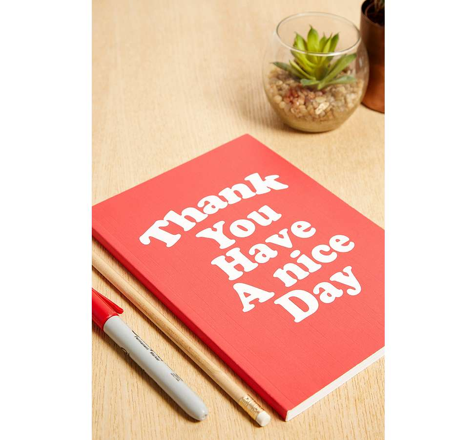 "Slide View: 1: Central 23 – Notizbuch ""Thank You Have A Nice Day"""