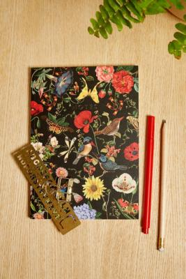 Central 23 Dark Floral Notebook