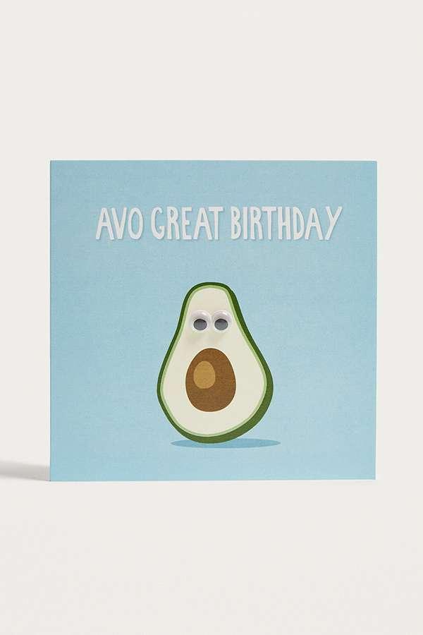 Avo Great Birthday Card – Great Birthday Card