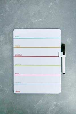 Weekly Dry Wipe Memo Board by Urban Outfitters