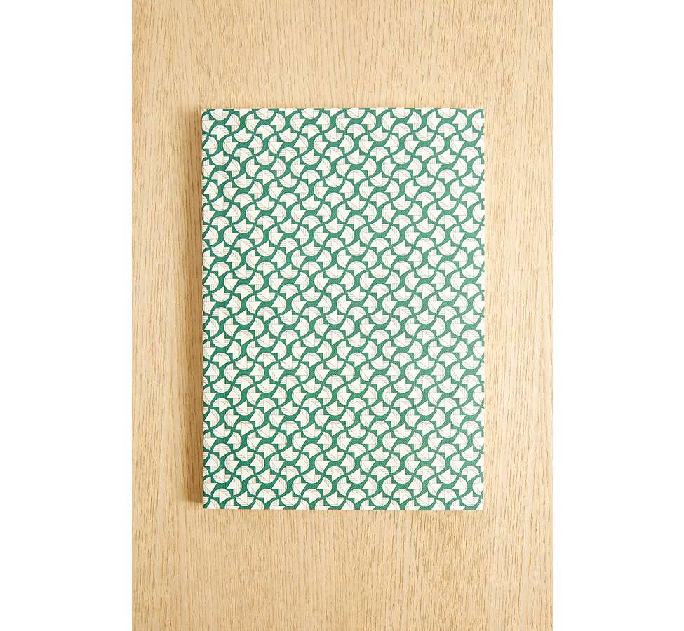 Slide View: 2: Ola Studio Patterned Notebook