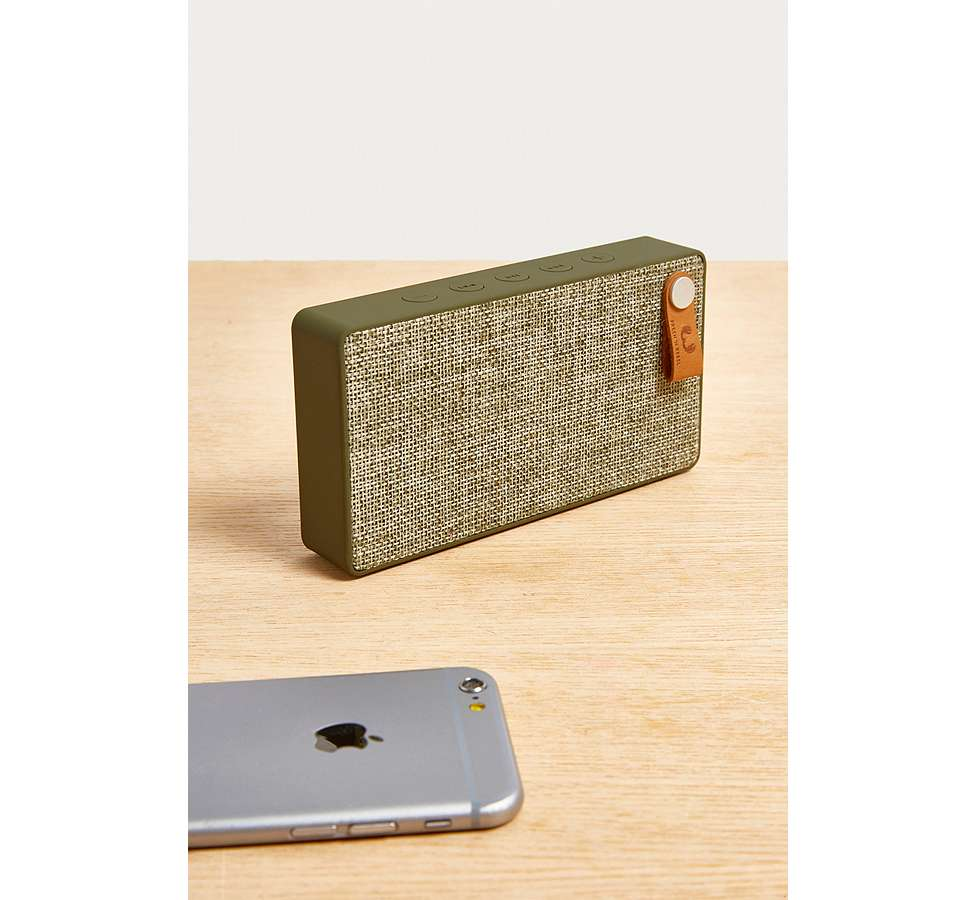 "Slide View: 1: Fresh 'N Rebel – Lautsprecher ""Rockbox Slice"" im Army-Style"