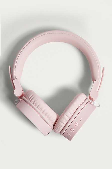 Fresh 'N Rebel Caps Cupcake Pink Wireless Headphones