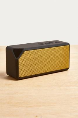 UO Black & Gold Portable Speaker