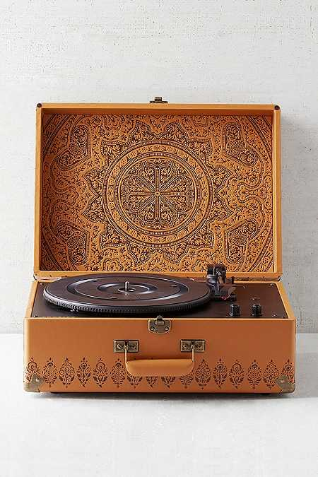 Crosley X UO Keepsake Embossed Portable Vinyl Record Player