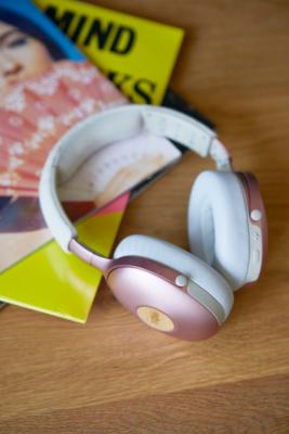 The House of Marley Positive Vibrations XL Wireless Headphones - Pink ALL at Urban Outfitters