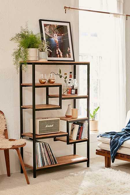 Milo storage shelf