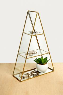 Large Triangle Wall Box by Urban Outfitters