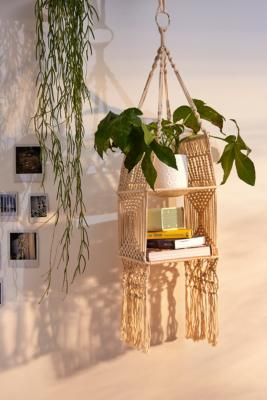 Macrame Hanging Shelf by Urban Outfitters