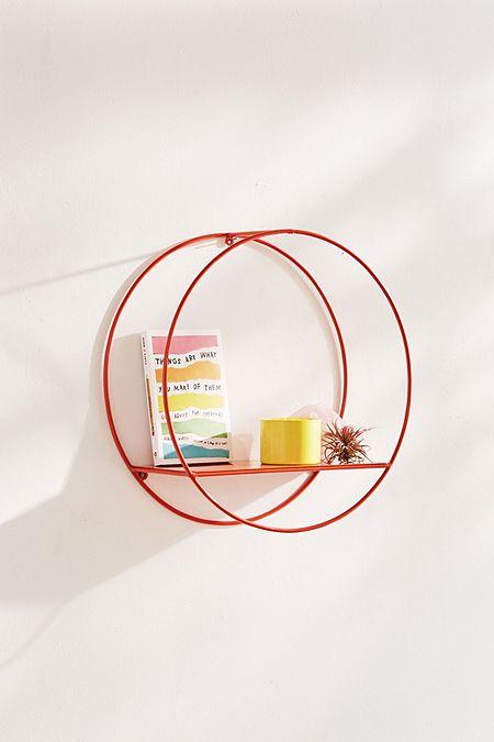 étagère circulaire en métal
