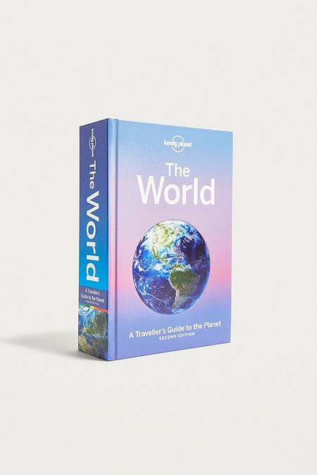 Books self development cultural cooking travel books urban the world a travellers guide to the planet by lonely planet fandeluxe Image collections