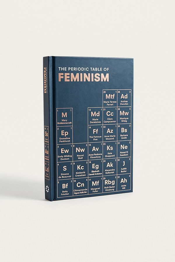 The Periodic Table Of Feminism By Marisa Bate Urban Outfitters Uk