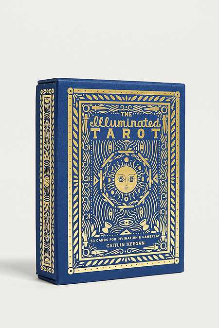 The Illuminated Tarot: 53 Cards for Divination & Gameplay By Caitlin Keegan