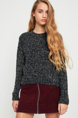 Pins and Needles - Pins  &  Needles Cropped Jumper, Black