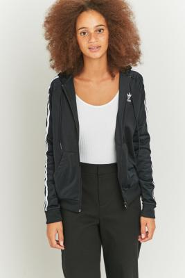 adidas Originals Superstar Black Zip Hoodie Black