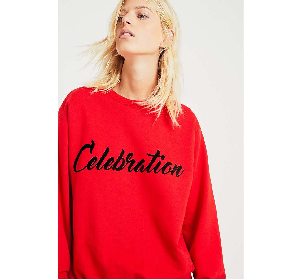 "Slide View: 2: Fleamadonna – Sweatshirt ""Celebration"""
