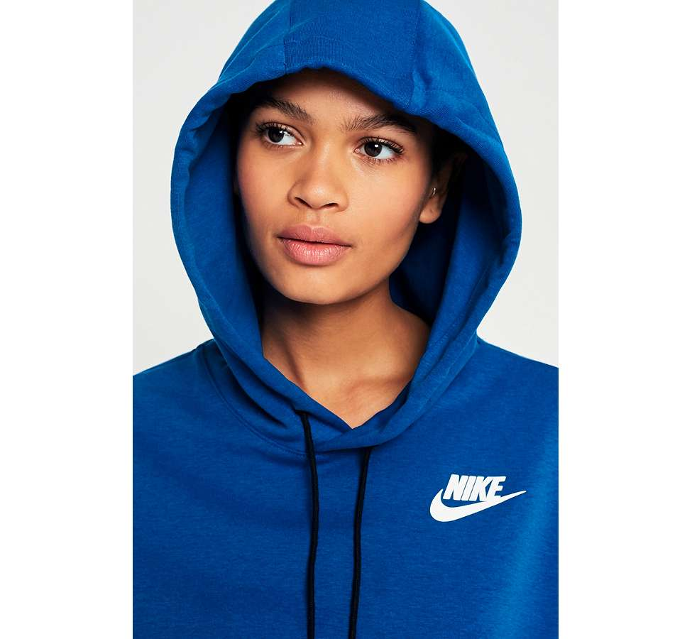 Slide View: 5: Nike Sportswear - Sweat à capuche bleu Advance 15
