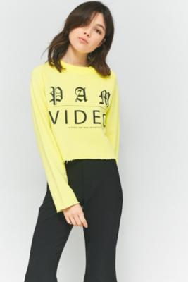 Perks And Mini - Perks And Mini Video Long Sleeve T-Shirt, Yellow