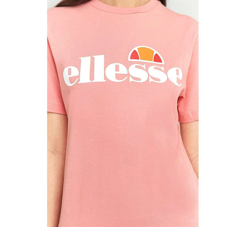 Slide View: 3: Ellesse Albany Pink T-Shirt