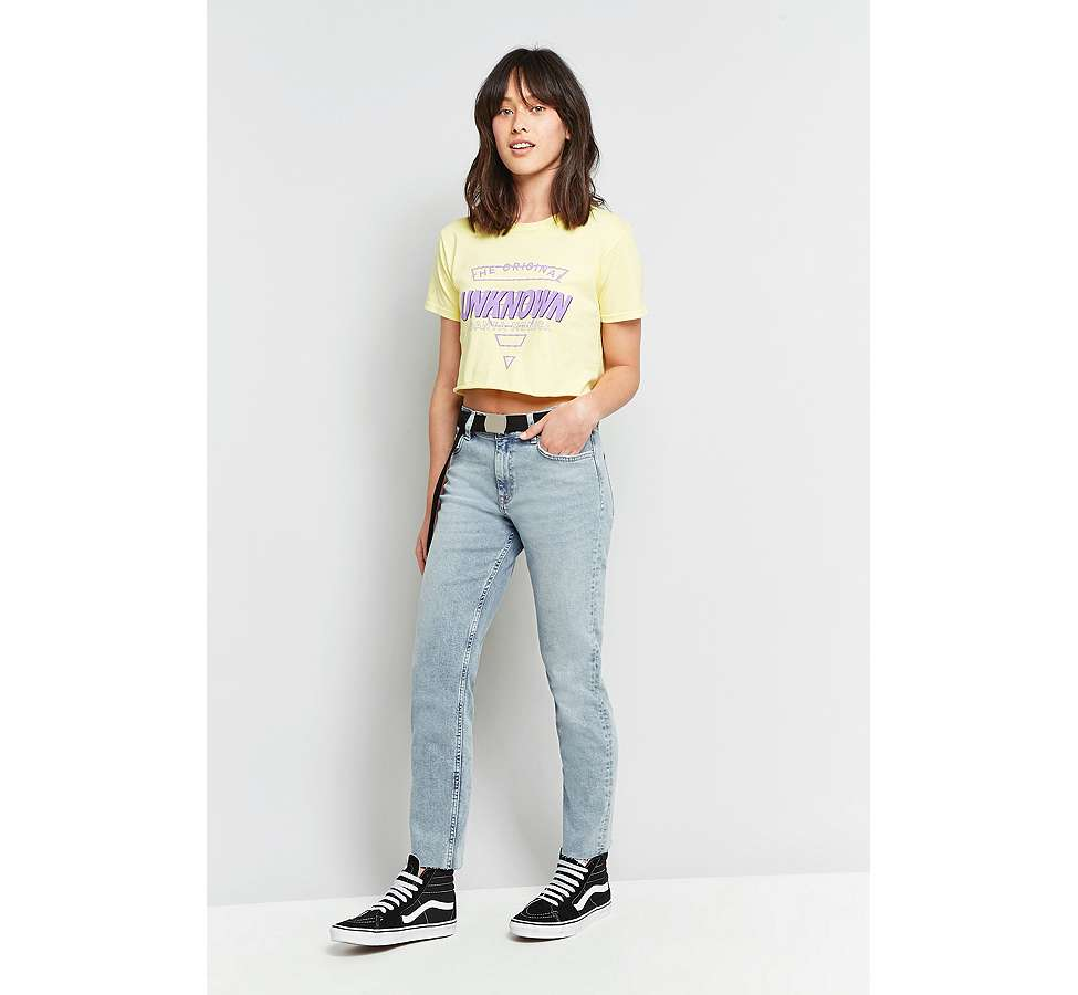 Slide View: 7: BDG Axyl Slim Straight Bleached Jeans