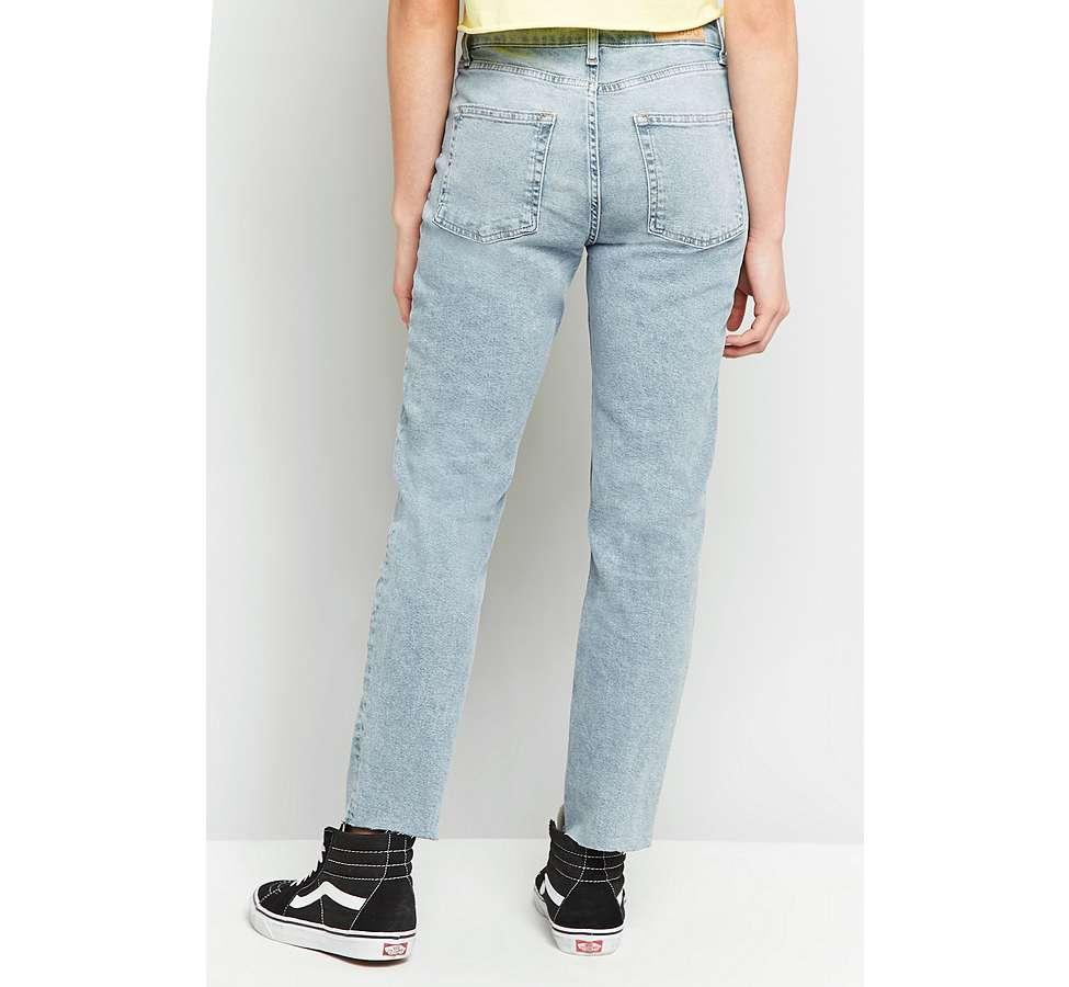 Slide View: 10: BDG Axyl Slim Straight Bleached Jeans
