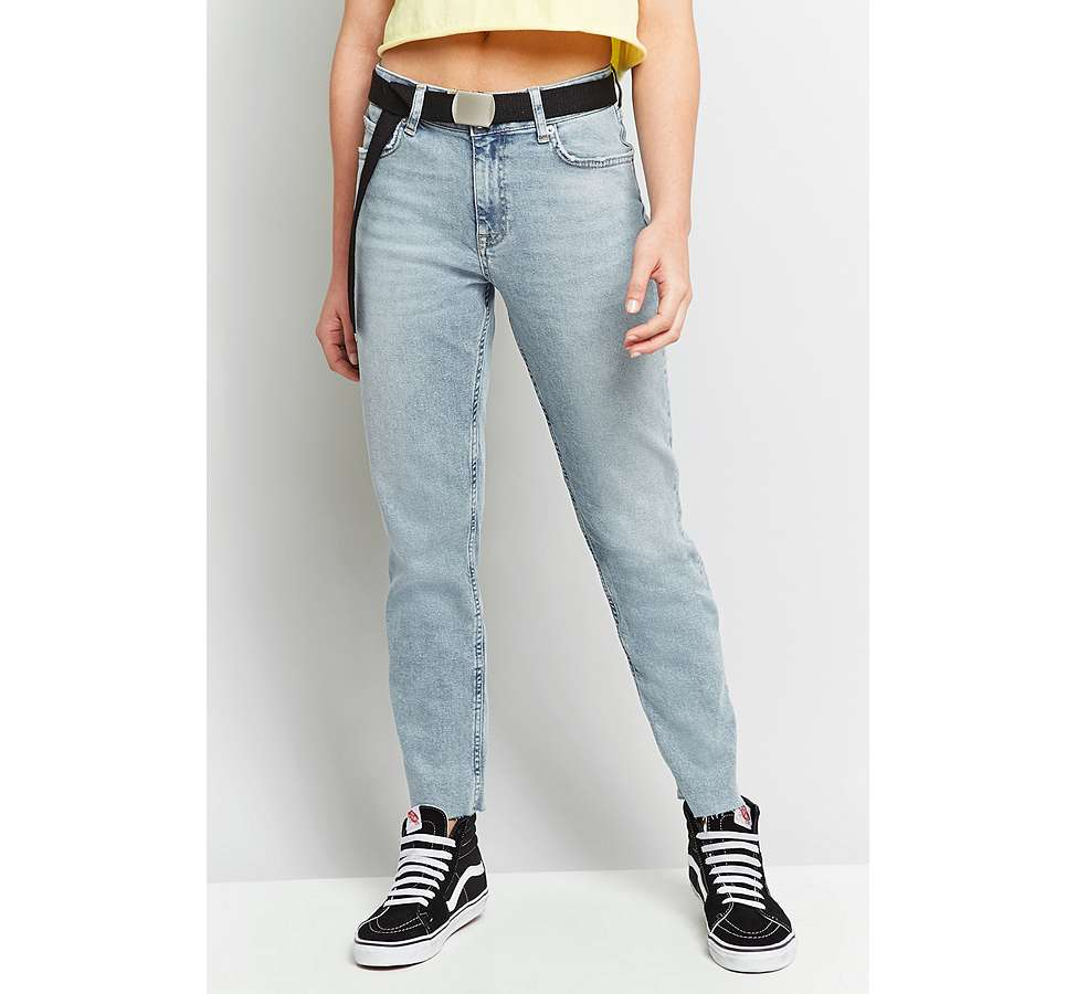 Slide View: 11: BDG Axyl Slim Straight Bleached Jeans