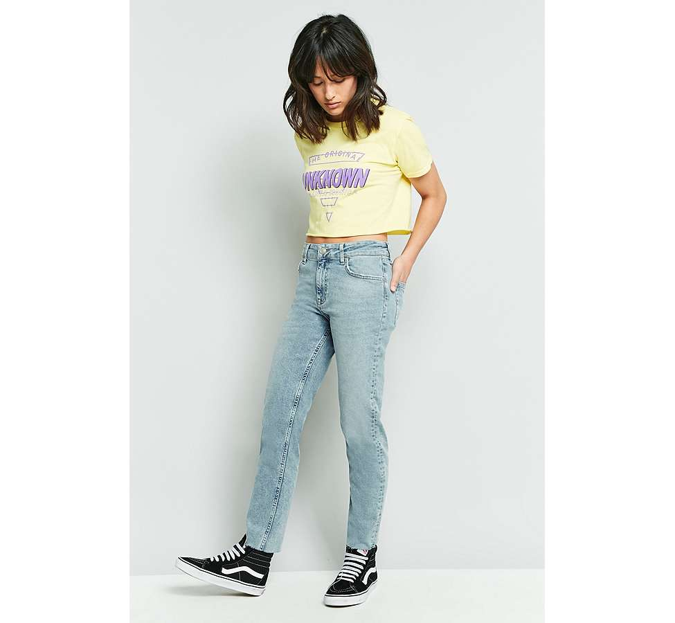 Slide View: 12: BDG Axyl Slim Straight Bleached Jeans