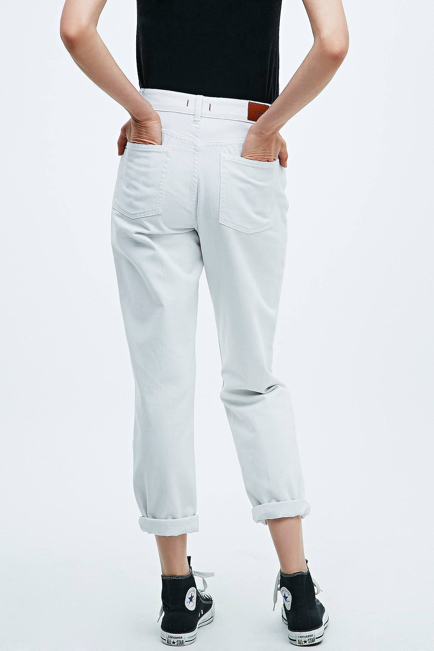 BDG White Mom Jeans | Urban Outfitters