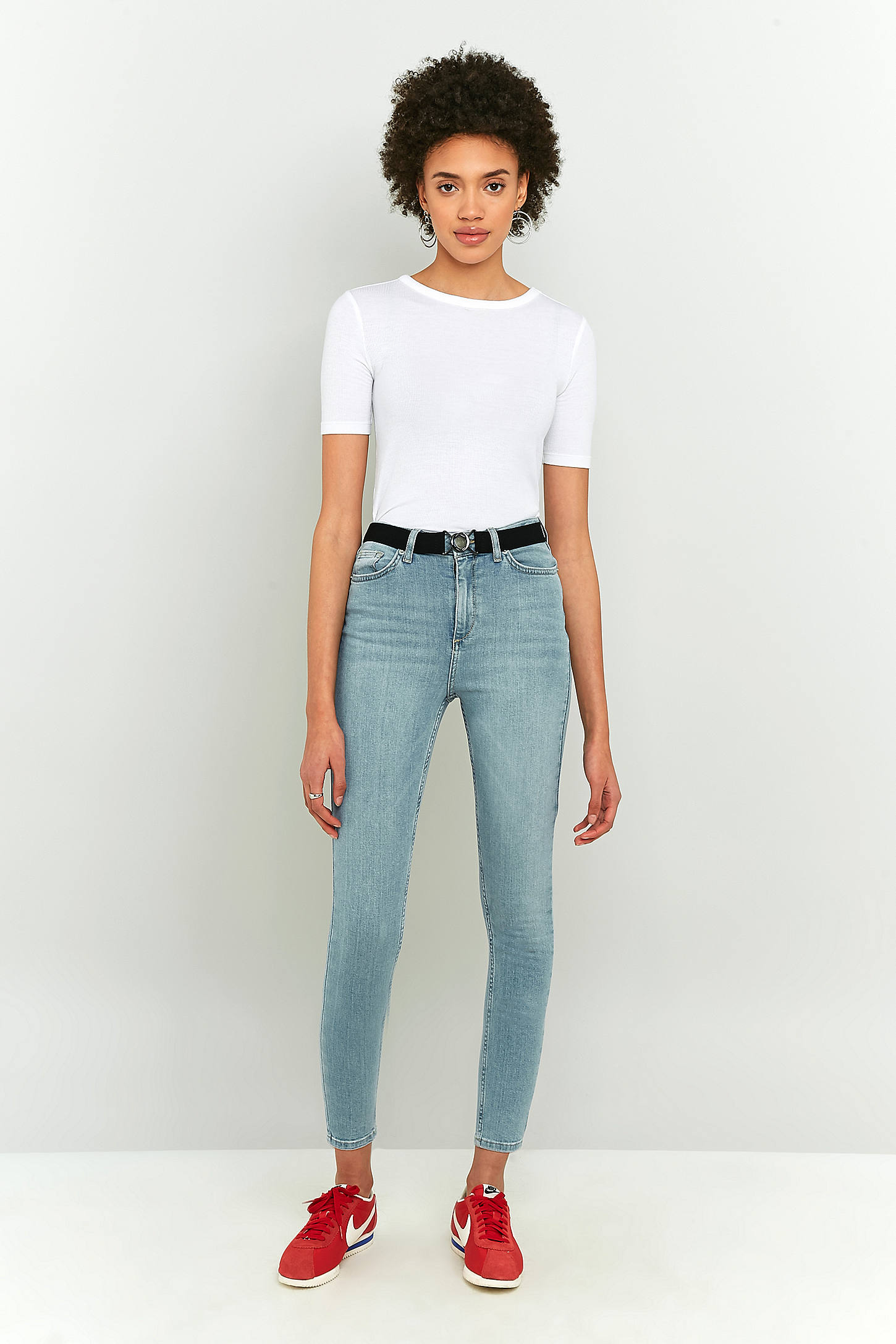 BDG Pine Light Wash High-Rise Super Skinny Jeans | Urban Outfitters