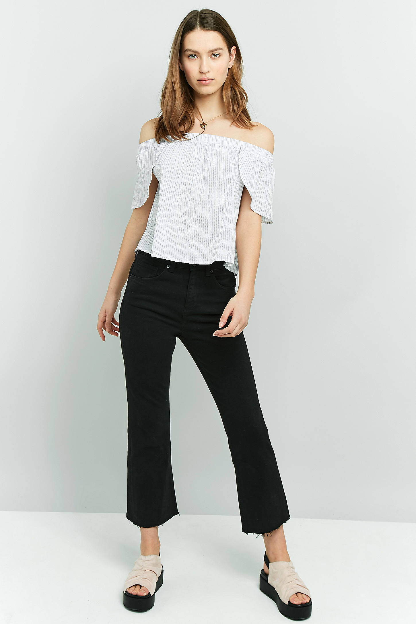 BDG Kick Flare Black Jeans | Urban Outfitters