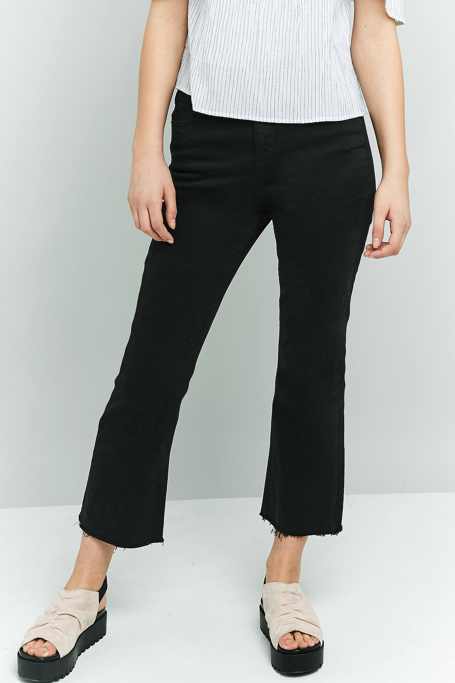 BDG Black Kick Flare Jeans | Urban Outfitters