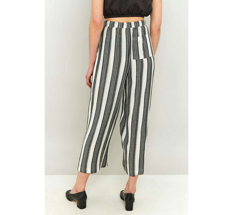 Slide View: 4: Staring At Stars Striped Wide Leg Trousers