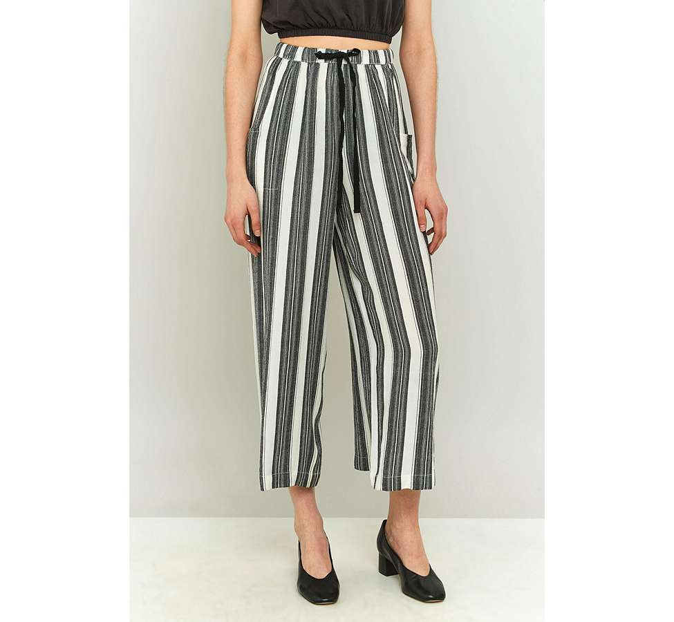 Slide View: 5: Staring At Stars Striped Wide Leg Trousers