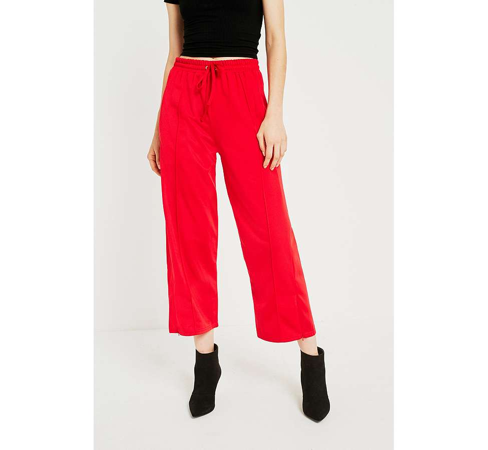 Slide View: 2: BDG Red Track Culottes
