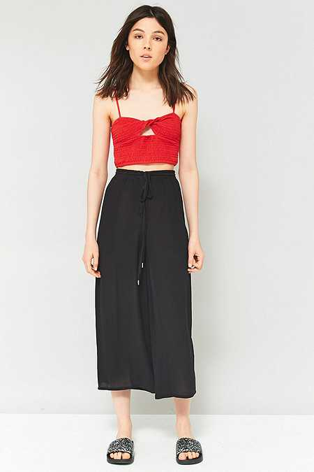 Staring At Stars Embroidered Side Culottes