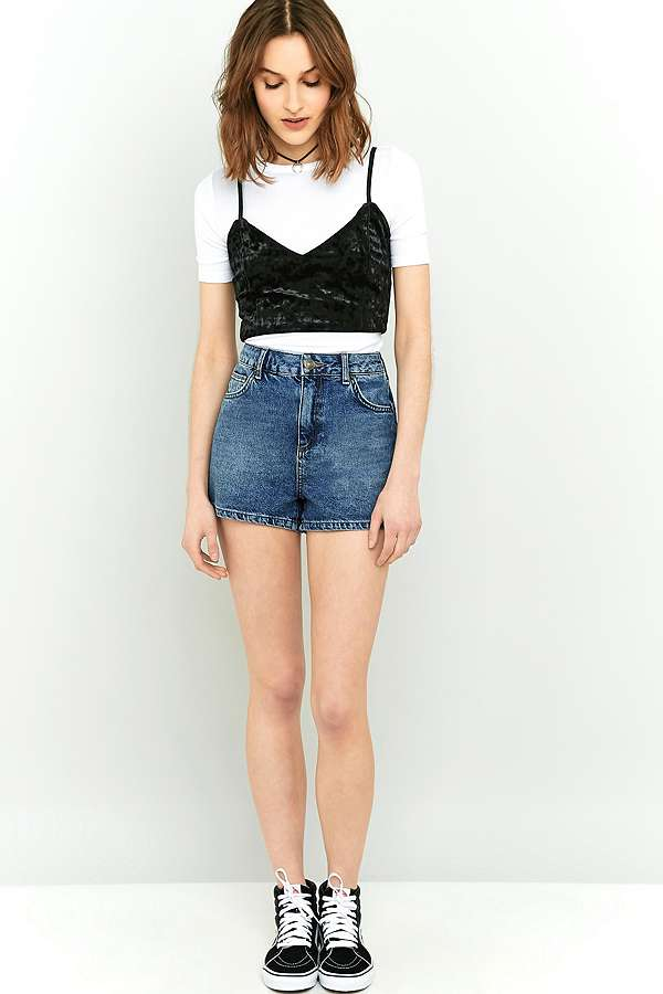BDG Mom High-Rise Denim Shorts | Urban Outfitters