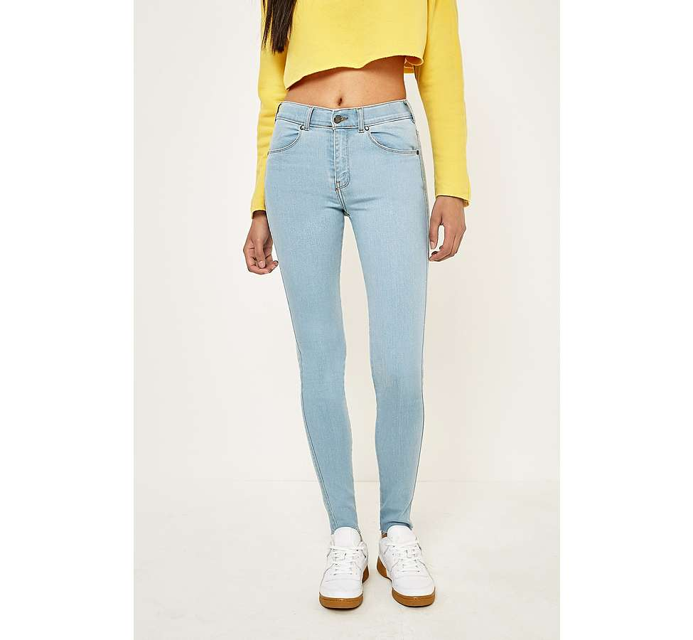 Slide View: 2: Dr. Denim Lexy Void Blue Skinny Jeans