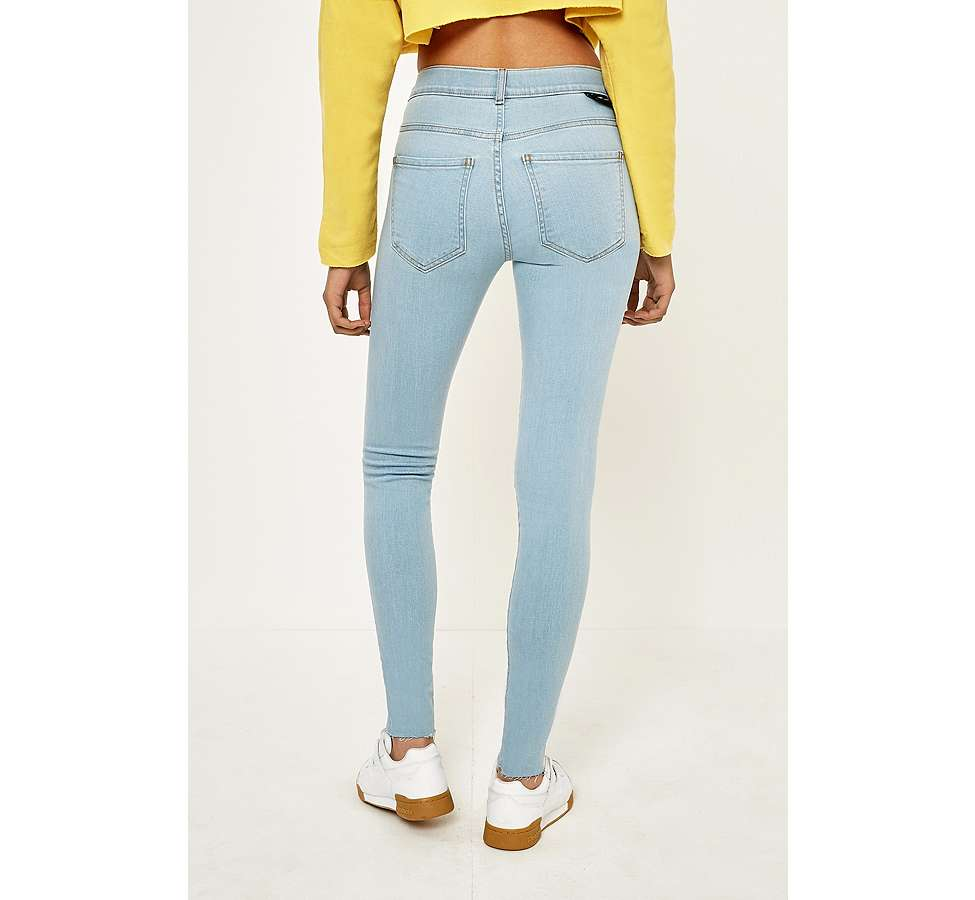 Slide View: 4: Dr. Denim Lexy Void Blue Skinny Jeans