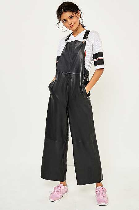Gestuz Angelina Leather Jumpsuit