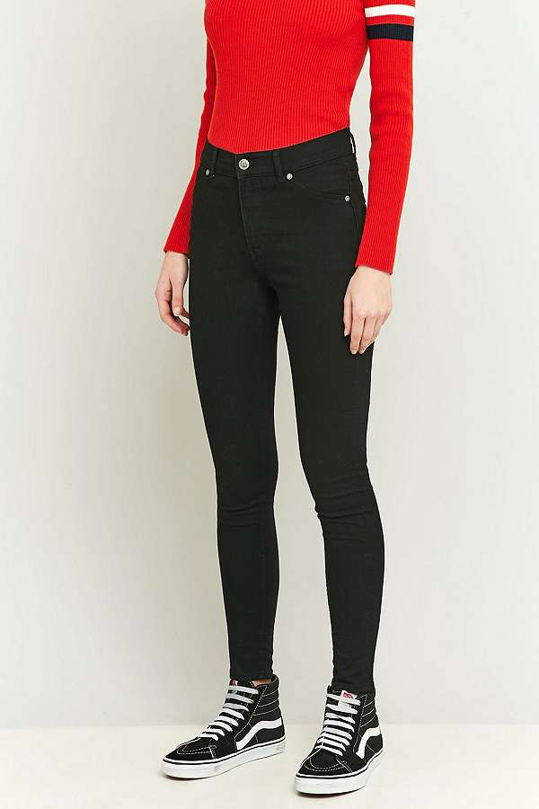 Cheap Monday High Spray On Black Skinny Jeans   Urban Outfitters